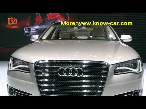 2010 Beijing Auto Show:Audi A8L W12