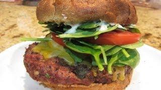 Bbq Elk Burgers With A Twist