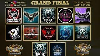 GRAND FINAL TOURNAMENT BRIGATA PART II   FREE FIRE INDONESIA