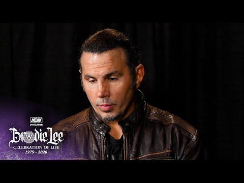 Matt Hardy Tribute   AEW Brodie Lee Celebration of Life, 12/30/20