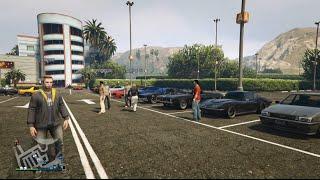GTA 5 Online (Xbox One)   Muscle Car Meet   Stallion, Cruising, Drag Racing & More
