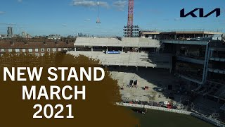 Our New Stand Taking Shape! | A Quick Look Around One Oval Square At The Kia Oval