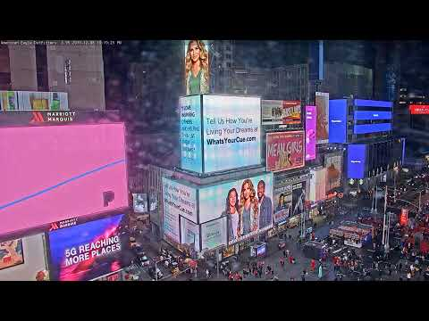 Times Square: 1540 Broadway View Live
