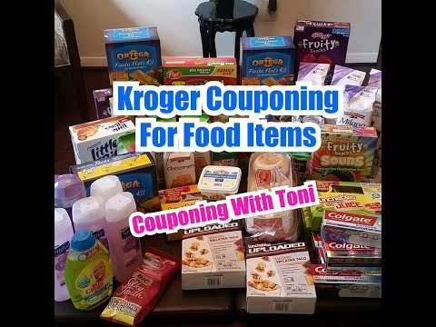 KROGER Grocery Shopping W/Coupons | Couponing With Toni