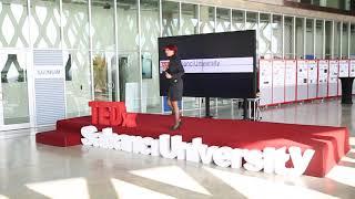 I don't believe in luck | Pınar Kaçar Özkent | TEDxSabanciUniversity