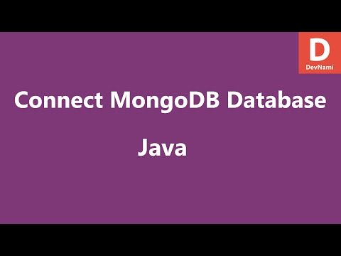 Connect to MongoDB Database in Java