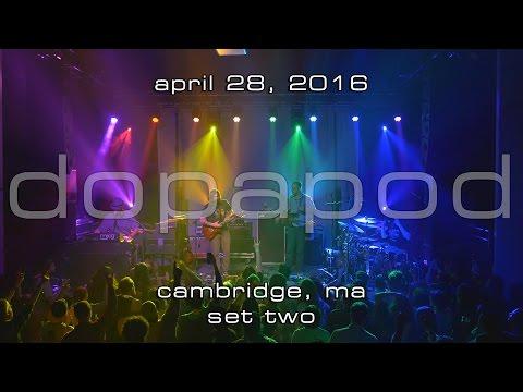 Dopapod: 2016-04-28 - The Sinclair; Cambridge, MA (Set 2) [4K]