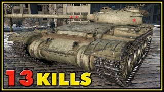 Object 430 Version II - 13 Kills - 1 vs 7 - World of Tanks Gameplay