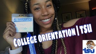 College Orientation  Tennessee State University