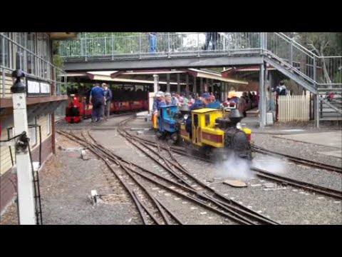 Diamond Valley Railway 53rd birthday 26/10/2014