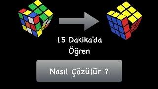 Zeka Küpü Nasıl Çözülür  Rubik Küp Çözümü  Zeka Küpü Nasıl Yapılır  Rubik Küp Nasıl Çözülür