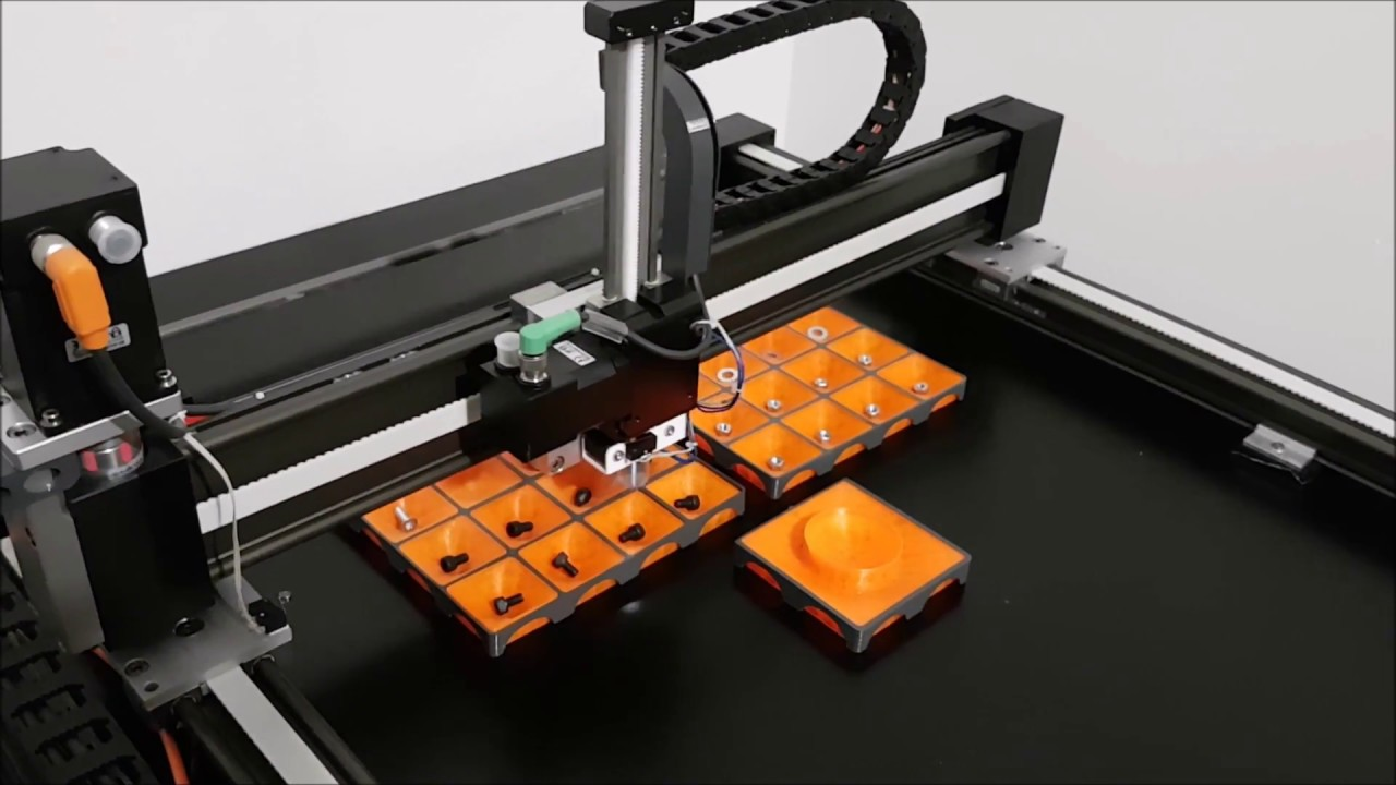gantry robot with control software