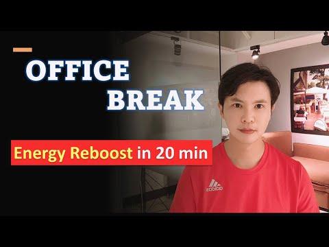 Office Break Energy Reboost Exercise / 20 min ENERGY Kung Fu Practice / Leon Chu