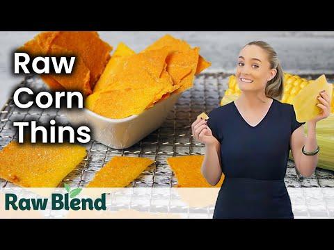 How To Make Raw Corn Chips In A Sedona Food Dehydrator | Recipe Video