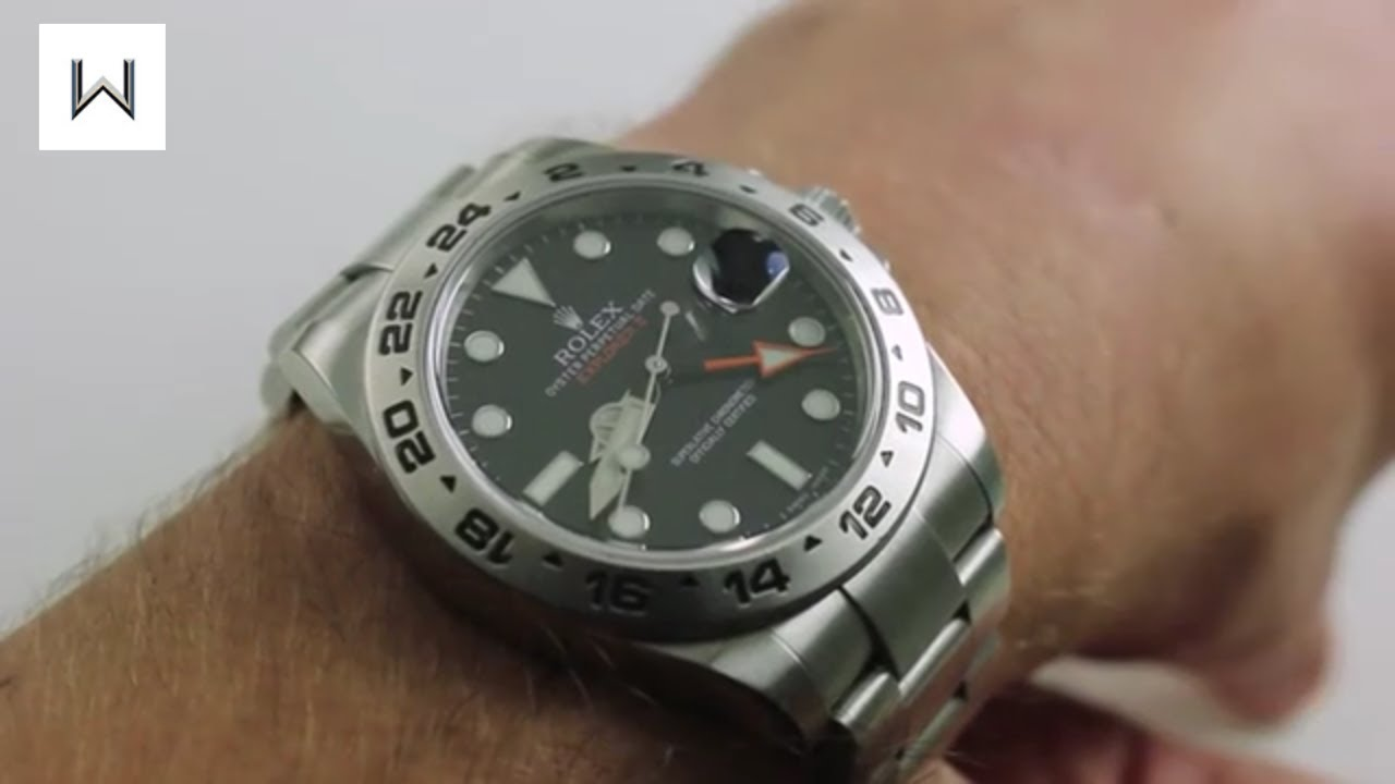Rolex Oyster Perpetual Explorer II 216570 Luxury Watch Review