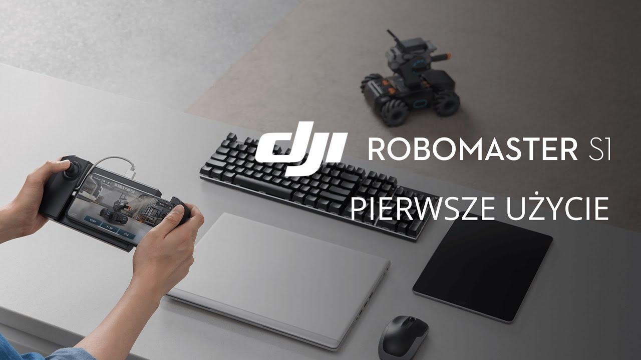 DJI RoboMaster S1 - Pierwsze kroki (PL) DJI ARS