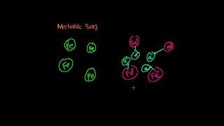 İyonik, Kovalent ve Metalik Bağlar (Biyoloji / Yaşam Kimyası)