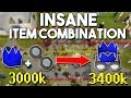 I Made 12 Mil Combining These Random 2 Items! Easy Oldschool Runescape Money Making Method [OSRS]
