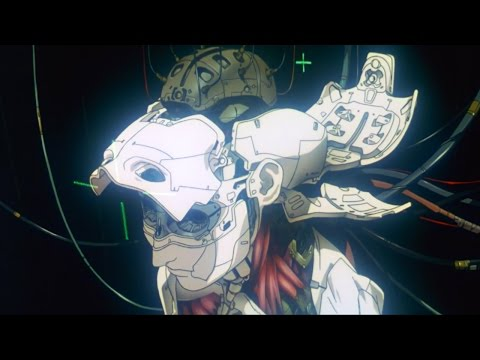 Ghost In The Shell 1995 Making Of A Cyborg Intro Scene Credits 60fps Fi Sub Esp Eng Youtube