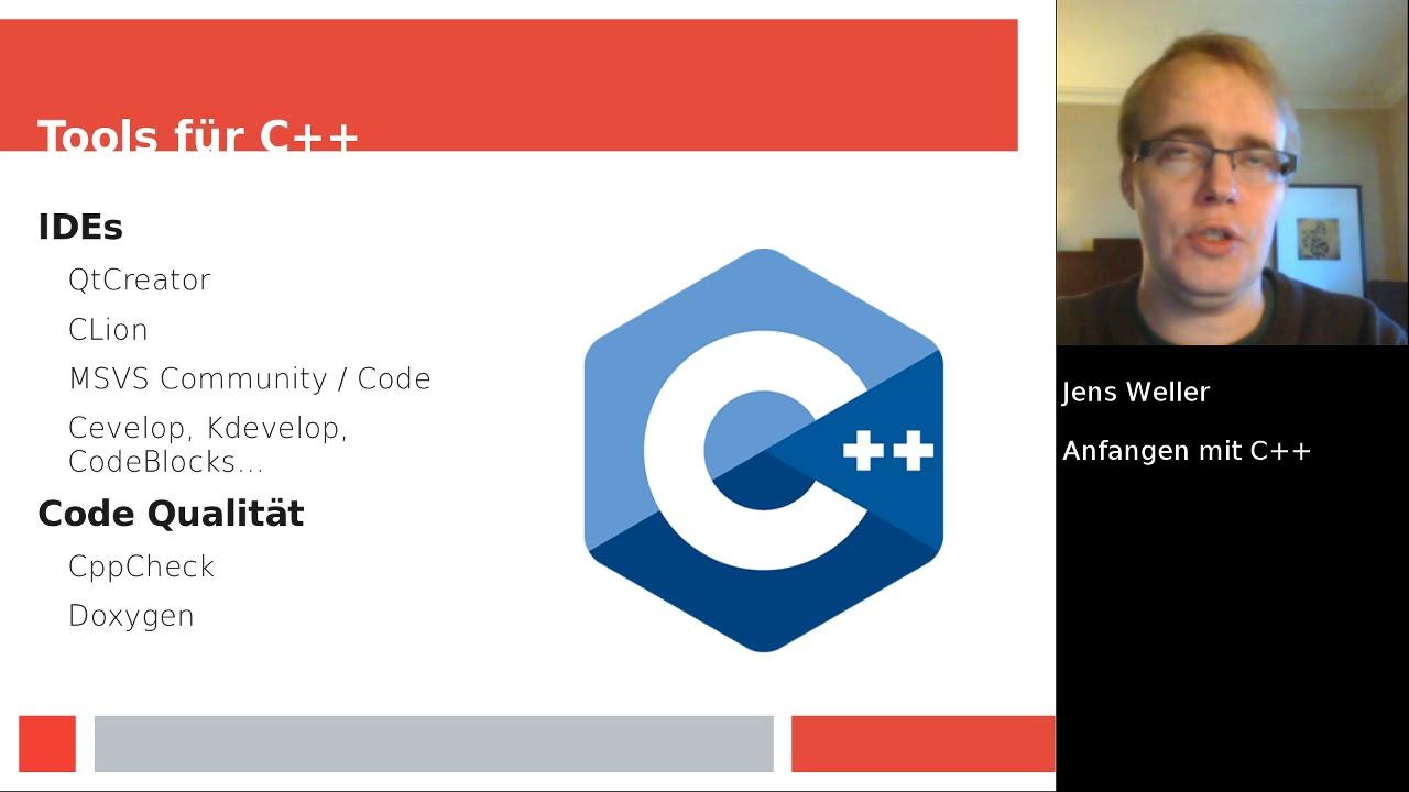 Anfangen mit C++