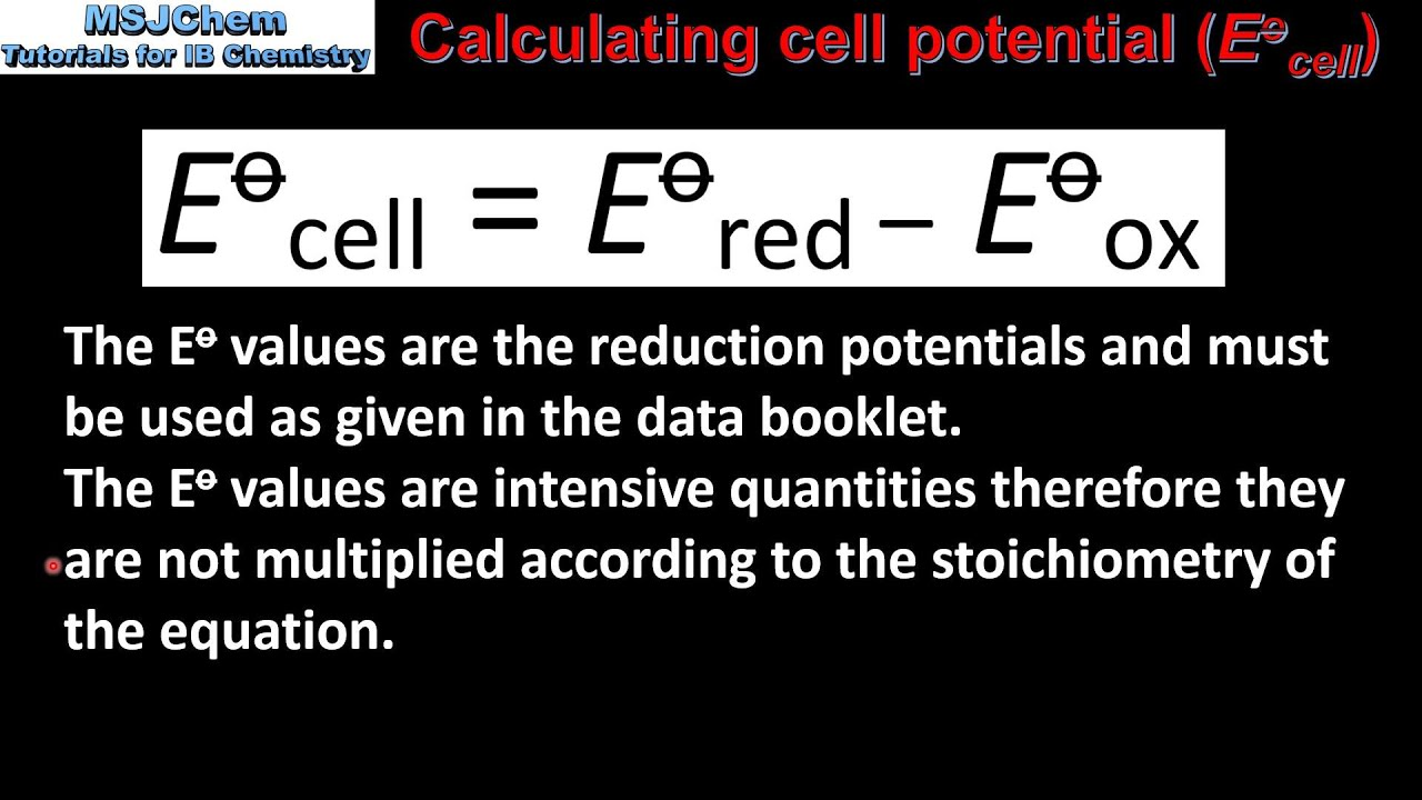 19 1 Calculating Cell Potential Hl