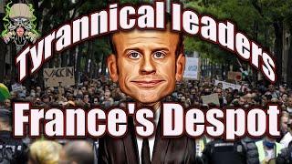 Mini Man Macron Goes TYRANNICAL😯😡
