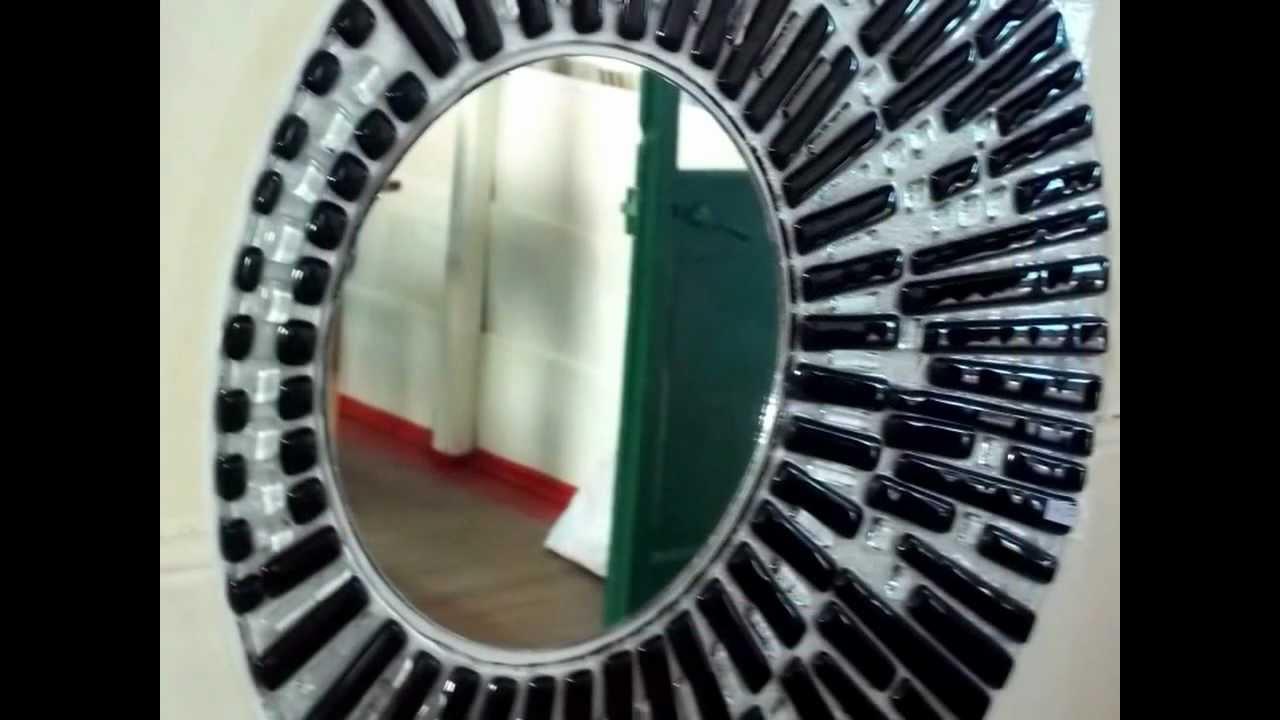 Bachas espejos y guardas para ba os y cocinas youtube for Espejos para pegar