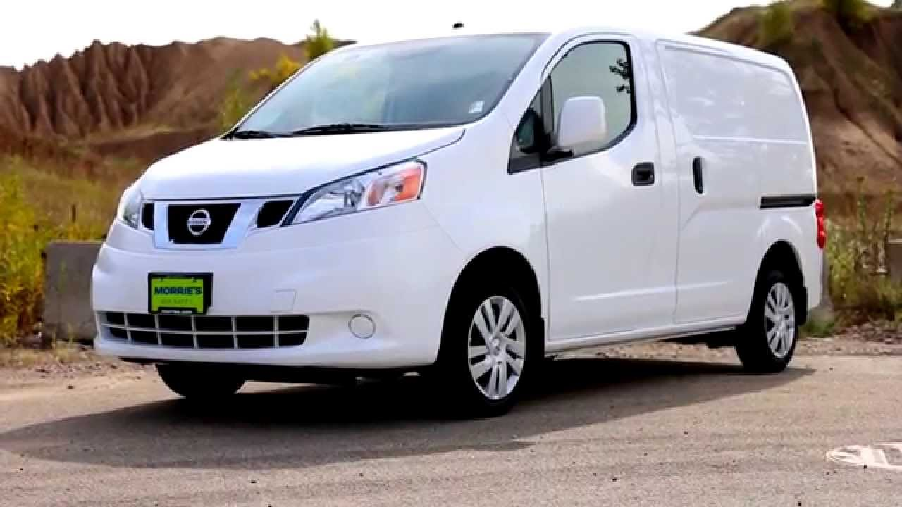 2015 nissan nv200 compact cargo van morrie 39 s brooklyn park nissan youtube. Black Bedroom Furniture Sets. Home Design Ideas