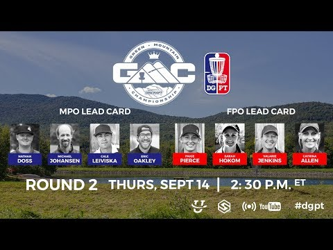 Round 2, Live: Green Mountain Championship presented by Discraft
