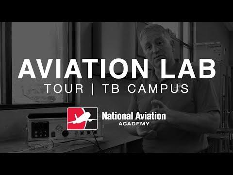 Tampa Bay Campus   Aviation Lab Tour