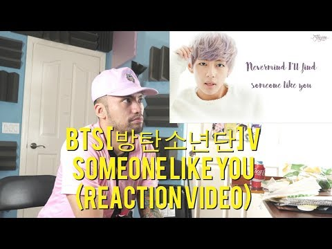BTS [방탄소년단] V - Someone Like You - Adele (Cover) - (Reaction Video)