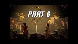 UNCHARTED THE LOST LEGACY Walkthrough Part 6 - Shadow Puzzle (PS4 Pro Let's Play Commentary)