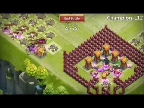 Castle Clash SICK Pumpkin Duke Hero Trials Win