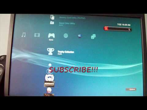 Putting AVI Video Files On The PS3 with Windows Media Player