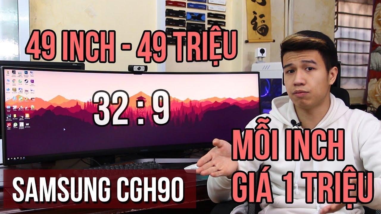 Samsung CHG90 – Màn hình PC đắt nhất quả đất!