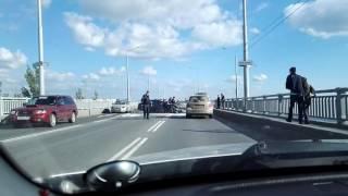 Авария, дтп на мосту Энгельс—Саратов 20.05.2016