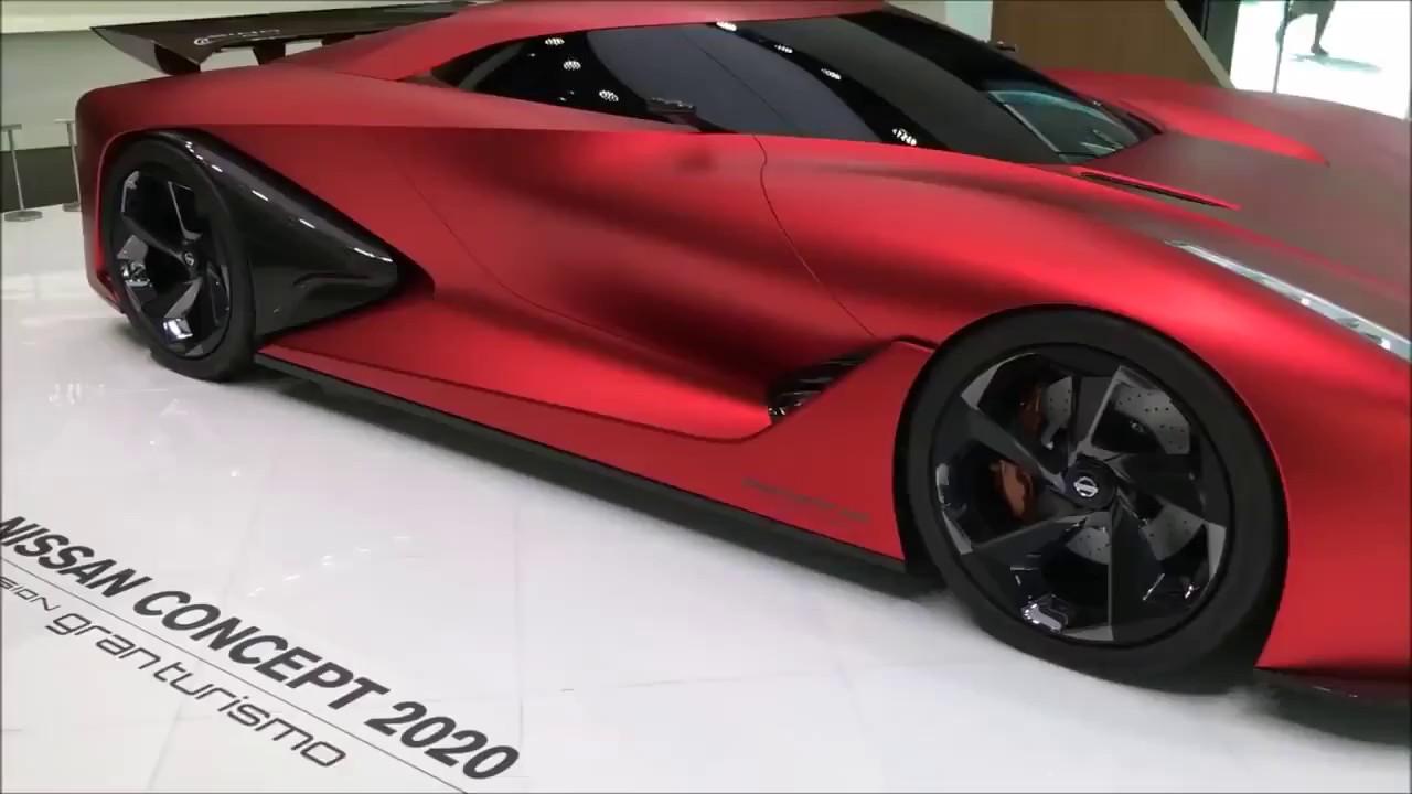 Nissan Concept 2020 Is A Nissan Gt R Hypercar Youtube