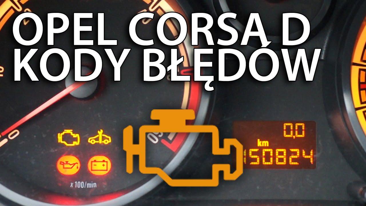 Odczytywanie Kod 243 W Błęd 243 W Opel Corsa D Dtc Diagnostyka