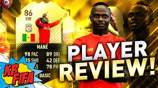 FIFA 17 SIF (2ND IN FORM) SADIO MANE (86) PLAYER REVIEW! | FIFA 17 ULTIMATE TEAM(, 2017-02-17T16:30:01.000Z)