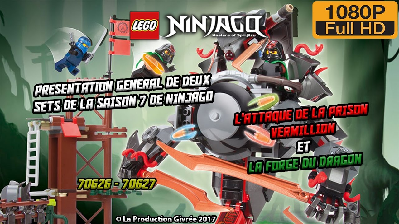 Lego ninjago saison 7 pr sentation g n ral des 2 plus - Lego ninjago nouvelle saison ...