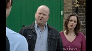 EastEnders - Martin smashes Phil's window (3rd June 2003)