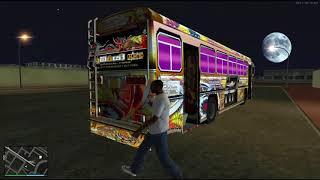 Kubiyo Unlimited Bus Outdoor System In GTA San Andreas   Mods By Navindu Maduwantha