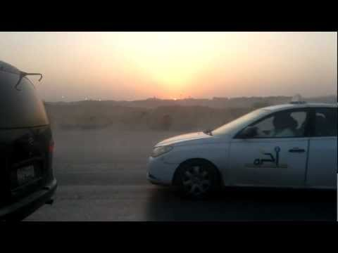 sun set @ riyadh in 30sec on 10.01.2012.mp4