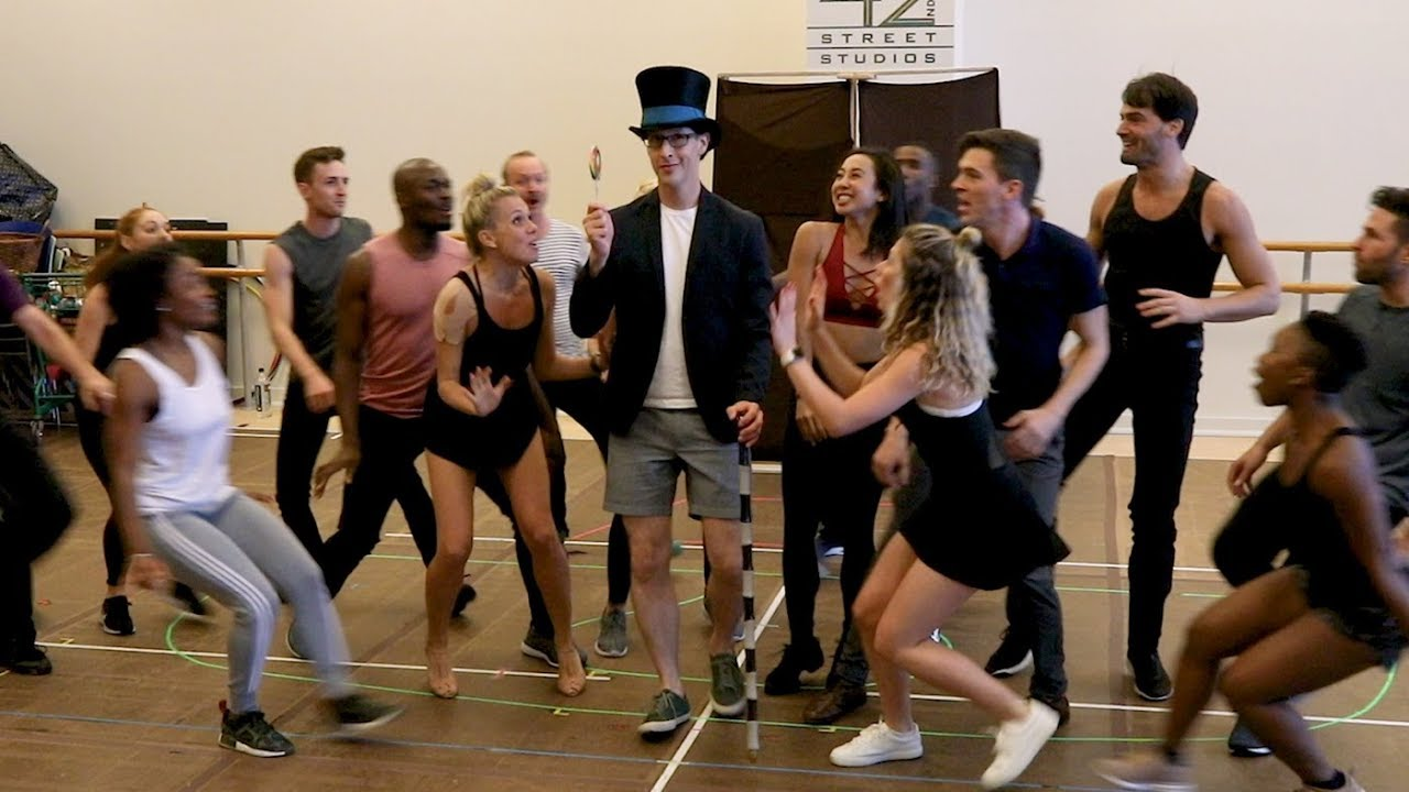 Watch the Cast of the CHARLIE AND THE CHOCOLATE FACTORY Tour Make Sweet Sounds in Rehearsal