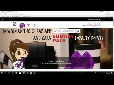 CARA TOP UP GRAB CREDIT WALLET ONLINE MELALUI E-PAY