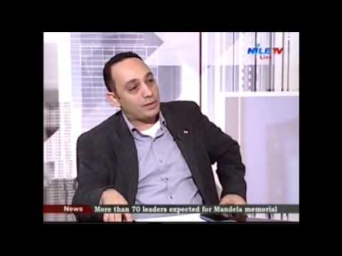 Dr. Freddy Elbaiady commenting on news headlines of Egypt and the region.