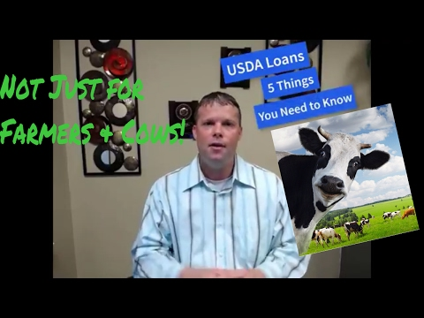 USDA Loans 5 Things You Need to Know