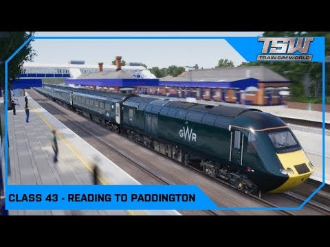 Drawyah plays Train Sim World - Class 43 (HST) Reading to Paddington
