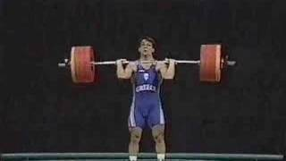 pyrros dimas gold medal 1996