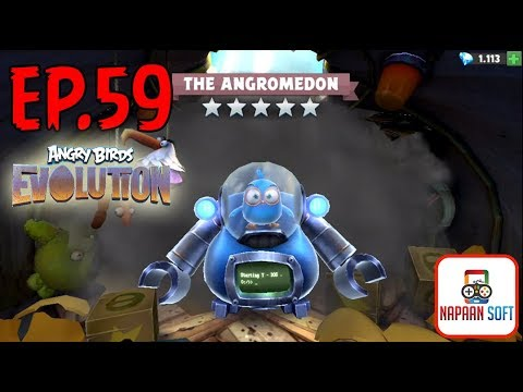 ANGRY BIRDS EVOLUTION - THE ANGROMEDON-THE VALENTINE'S DAY - THE EARTH STOOD STILL - HATCHING EGGS